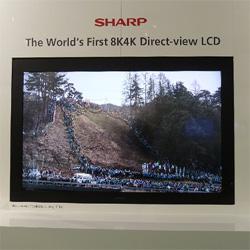 Super HiVision: Sharp's 8k4k SUPER HD TELEVISION…
