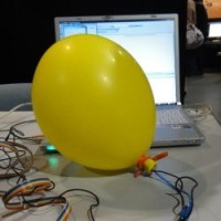 The Balloon Input Device, The Huggable Interface