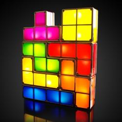 Tetris Lights, Mood Lighting For The Tetris Generation…