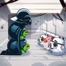 Angry Birds Star Wars, Three Hilarious Trailers and a Gameplay Sneak Peek…