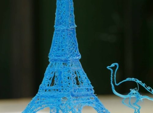 3Doodler the 3D Printing Pen, Drawing in Thin Air…