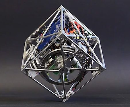 Cubli the Acrobatic Robotic Cube with Balance…
