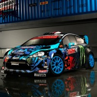 Ken Block behind the Wheel, Practicing for Gymkhana and Rolling Rally Cars…