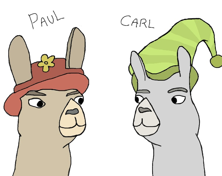 Llamas with hats carl hat llama s with hat s episode 5