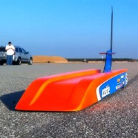 The Toe Cutter: Remote Controlled Bullet Car Raises the World Record to 188mph…