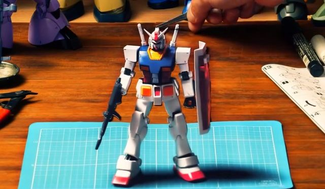 The Canon Pixus Gundam Project, all sorts of cool in forced perspective 3D…