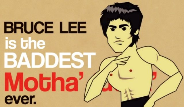 An Animated Breakdown of Why Bruce Lee was the Baddest Motha Ever…