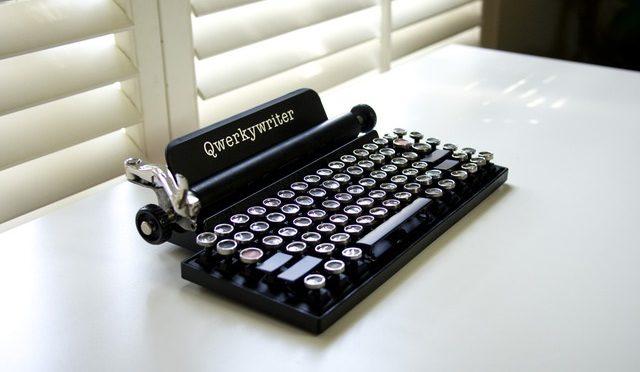 Qwerkywriter, the Cool Retro Keyboard Flashback…