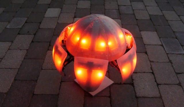 MorpHex Mark III, the Incredible Walking Crawling Rolling Spherical Robot…