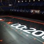 Nike's House of Mamba LED Basketball Court, the Stunning LED Display under your Nikes…