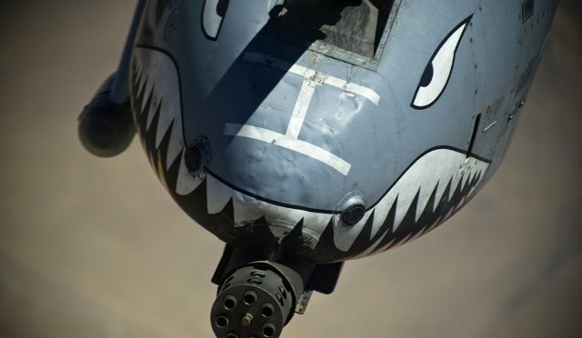 The A-10 Warthog Saved from Cuts, Sent To Work Fighting ISIS…