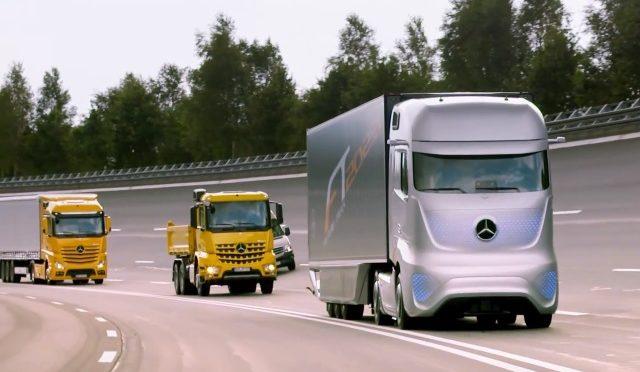The Daimler Future Truck 2025, Auto-Pilot comes to Trucking…