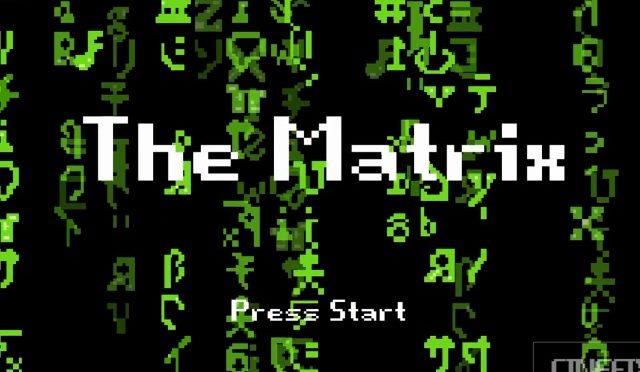 The Matrix Rebooted in 8 bit Cinema Glory…