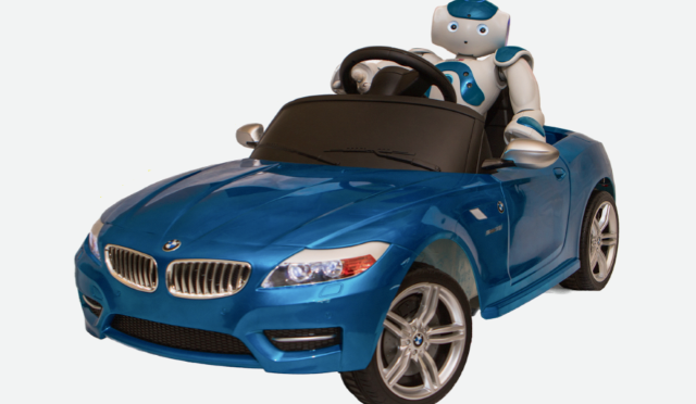 Nao Robot Learns To Drive, Now Needs To Learn How To Flip Off Other Drivers…