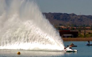 Top Fuel Drag Boat Problem Child in Action at Thunder on the River…