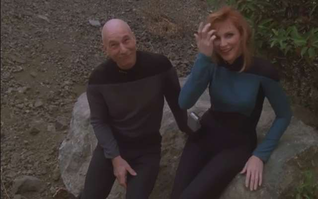 Star Trek: The Next Generation Gag Reels, Bloopers are still Funny in the Future…
