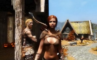 10 Hours Walking in Skyrim as a Women, the CatCall Controversy goes Digital…
