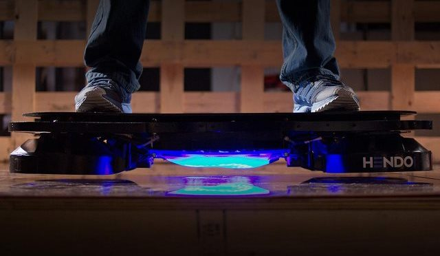 The Hendo Hoverboard, the Real Magnetic Propulsion Hoverboard as Demonstrated by Tony Hawk…