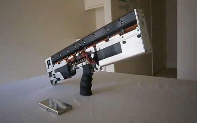 how to make a homemade railgun