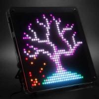 LED Pixel Art, The LED Wall Art Display Thatu0027s Just Too Coolu2026