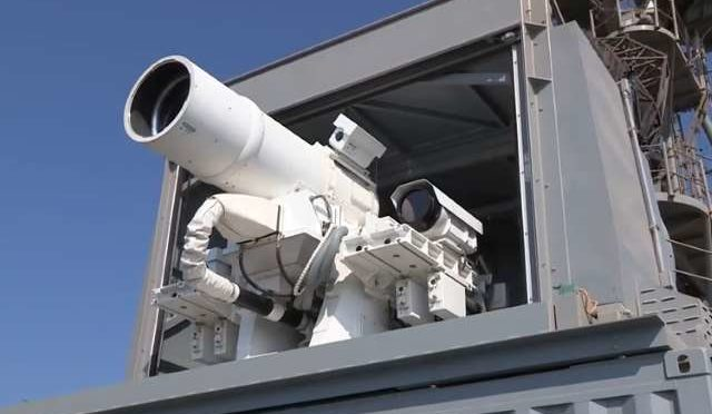 The US Navy Deploy the (LaWS) Laser Weapon System in the Persian Gulf…