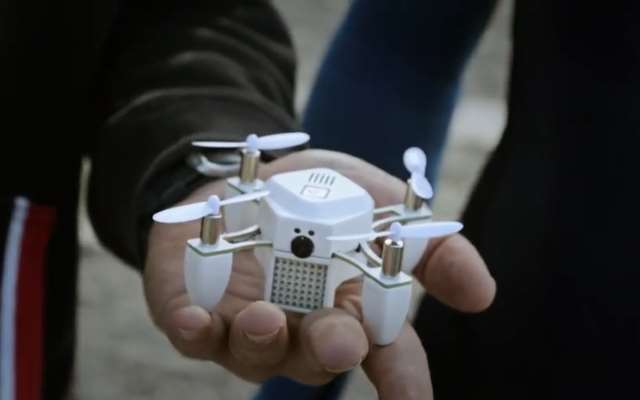 Zano the Nano Drone, Your Eye in the Sky that Fits in the Palm of Your Hand…