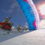 Speedriding: Skiing with a Parachute on…