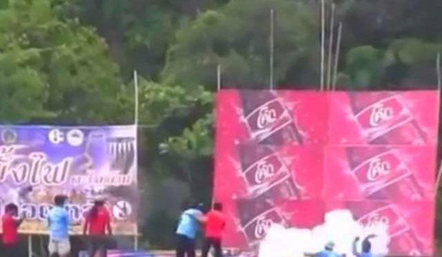 Thai Fireworks are Badass…