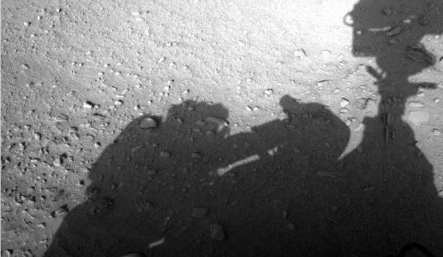 Man on Mars? NASA Image Captures Human Shadow with Curiosity!