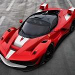 Sebastian Vettel takes the Ferrari FXX K for a Spin…