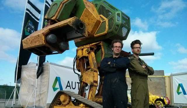 MegaBot Rumble, Challenge Accepted in the Robot Battle of the Century…