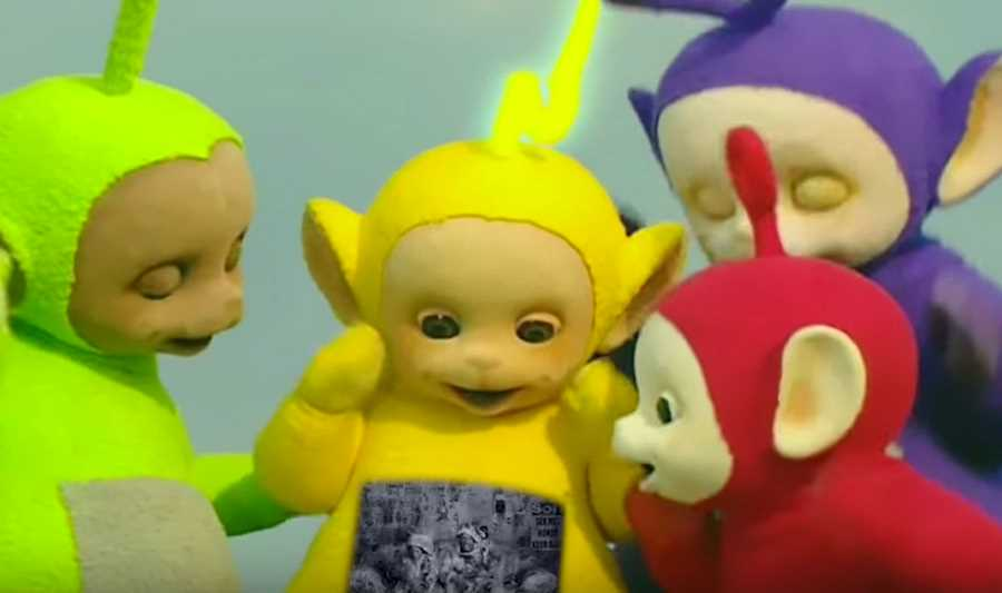 I Fink U Freeky Performed by the Teletubbies, Too Funny.
