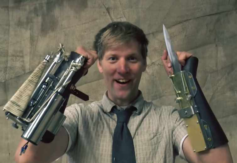 Colin Furze Makes Real Assassin's Creed Weapons, Cool.