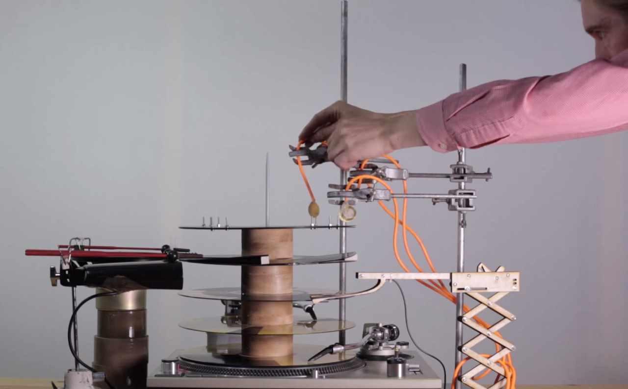 Mechanical Techno, Unconventional Audio.