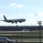 The Spectacular Landing in Frankfurt.