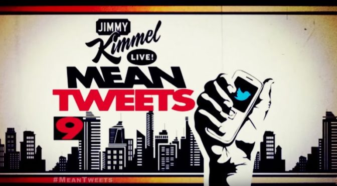 Celebrities Read Mean Tweets #9, Hilarious.