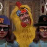 What Happens If You Remix 'The Shinning' with Chickens, The Chickening. Hilarious.