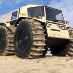 The Sherp, an ATV That's Siberian Tough.