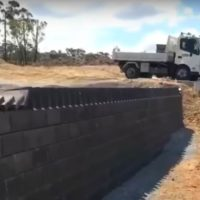Dominoes with Bricks, the Aussie Way…