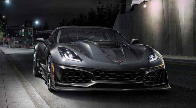2019 Corvette ZR1, the Last of the Front Engine Stingrays?