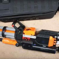 The Nerf Rival Minigun, The Nerf War Winner…